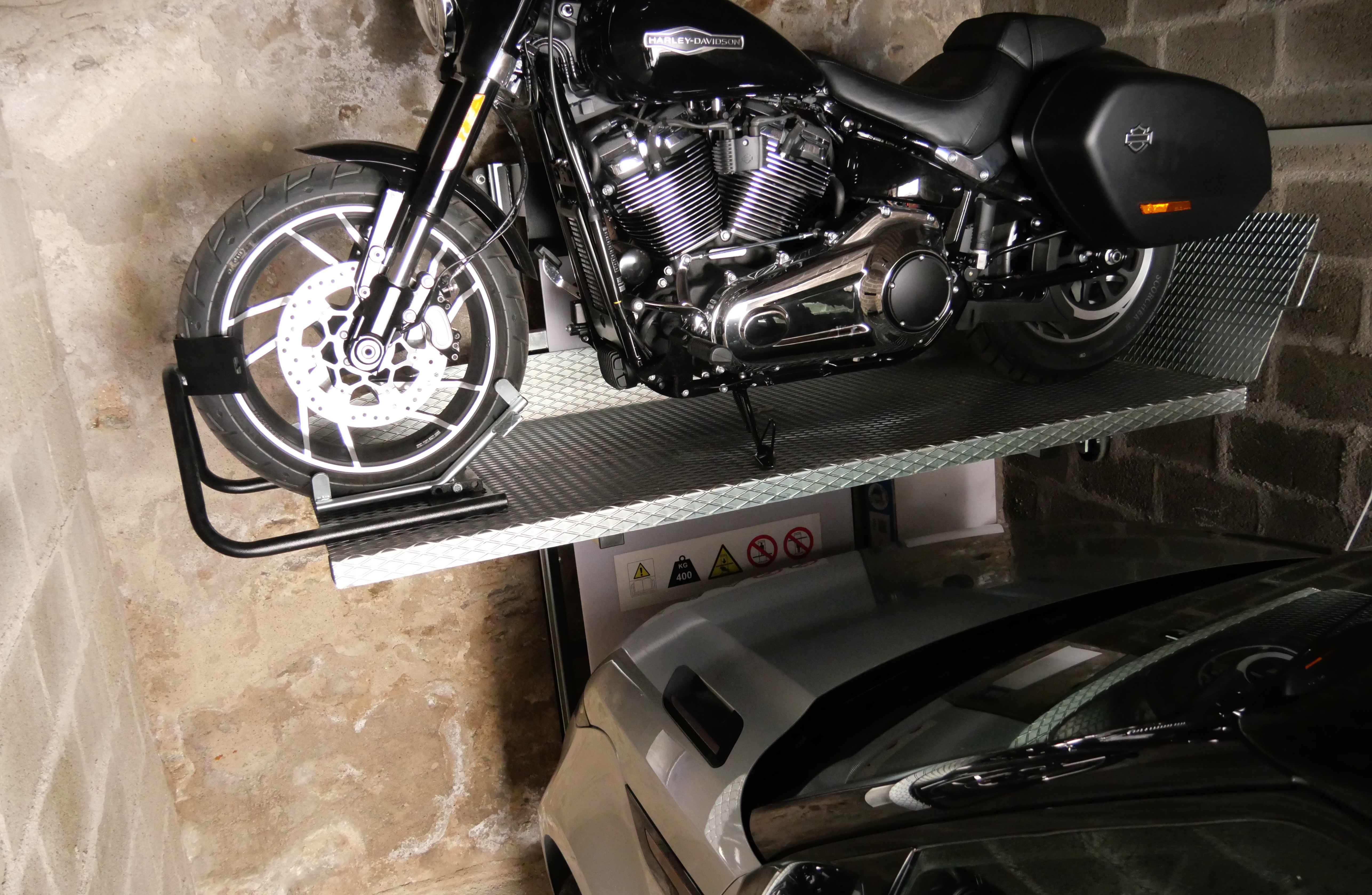 Visuel Ascenseur Moto LIFT SYSTEME