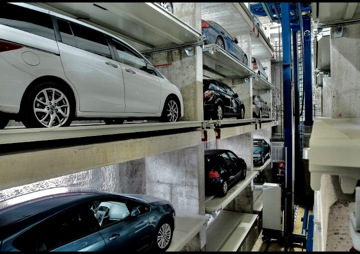 Visuel parking automatique